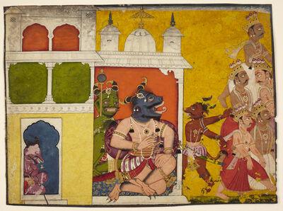 'Demons Receiving Deities', 18th century