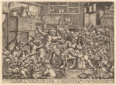 Peter van der Borcht, 'The Cobbler's Unruly Family', 1559