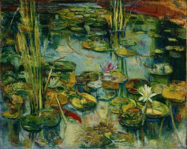 Liao Chi-Chun 廖繼春, 'Lotus ', 1948