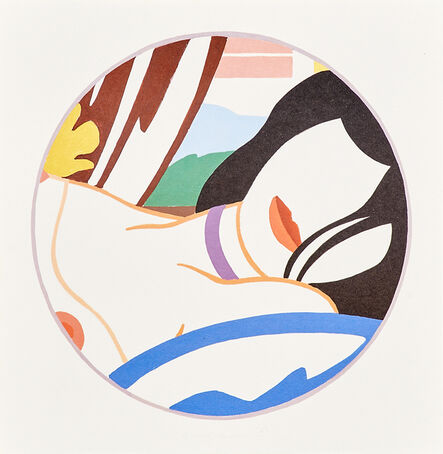 Tom Wesselmann, 'Artsounds Collection Deluxe Edition: Portfolio of 13 lithographs in colors in original box, including works by Tom Wesselmann, Marcel Duchamp, Larry Rivers and Italo Scanga (missing double album and several works)', 1986 (missing double album and several works)