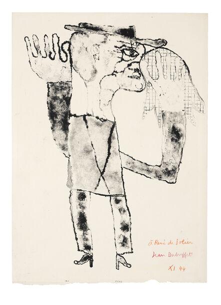 Jean Dubuffet, 'Moucheur', 1944