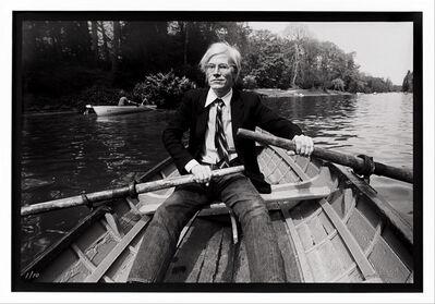 Christopher Makos, 'Andy Warhol Row Boat ', 1982/2020