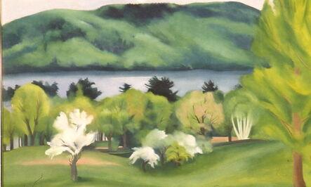 Georgia O'Keeffe, 'Lake George by Early Moonrise', 1930
