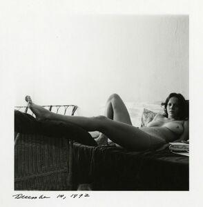 Melissa Shook, 'Self-Portrait, December 14, 1972', 1972