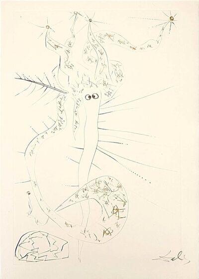 Salvador Dalí, 'Tristal le Fou ', 1969