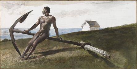 Andrew Wyeth, 'Anchor Man', 1983