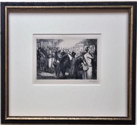 John Sloan, 'Connoisseurs of Prints', 1905