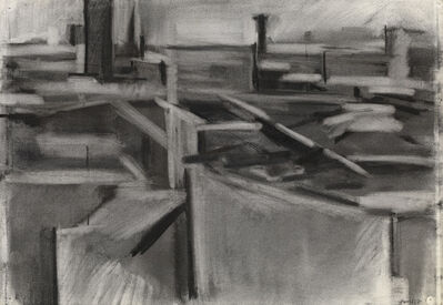 Dorothy Mead, 'Rooftops in London  ', 1967