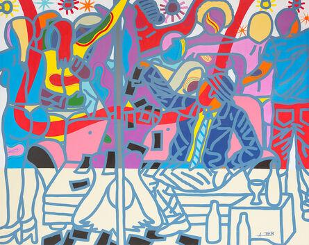 Ajarb Bernard Ategwa, 'Simo Enjoy Ya Life Ya', 2017