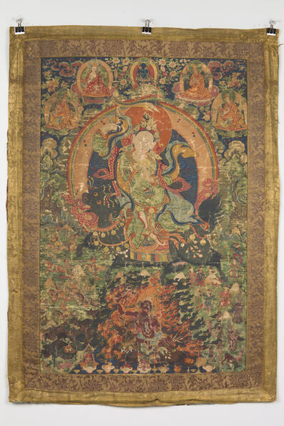 'Protective goddess in peaceful and wrathful form', Between 1790-1805