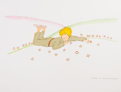 Antoine de Saint-Exupéry, 'The Little Prince Lying On The Grass', 2009