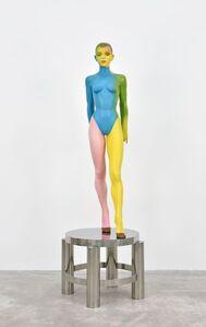 Allen Jones, 'Waiting on Table II (with wedge heels)', 1987