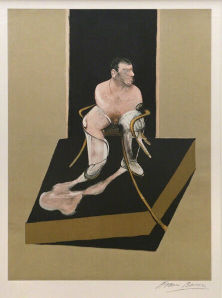 Francis Bacon, 'Seated figure', 1987