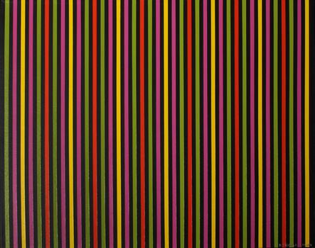Donna Sensor Thomas, 'Neon Lines', 2008