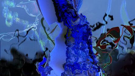 Sara Ludy, 'Untitled (Blue garden)', 2021