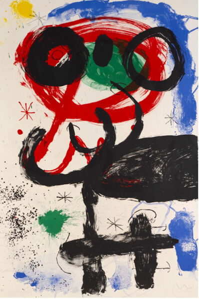 Joan Miró, 'La Vendangeuse', 1964