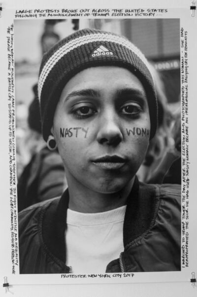 Janette Beckman, 'Protester- New York City, 2017', 2018
