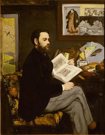 Édouard Manet, 'Emile Zola', 1867-1868