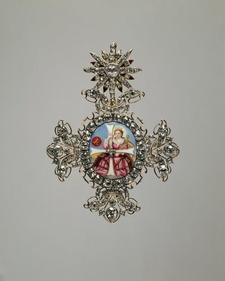 'Badge of the Order of St. Catherine', Late 18th century