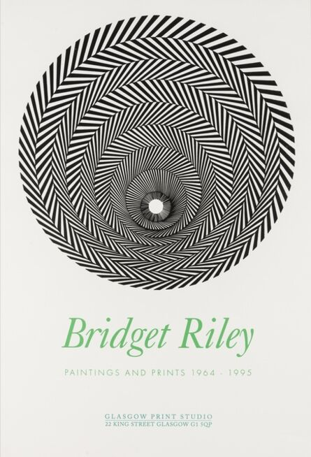 Bridget Riley, 'A Poster for Bridget Riley 'Paintings and Prints 1964-1995'', 1996