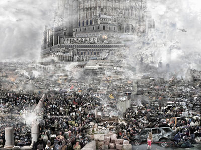Du Zhenjun, 'BABEL TOWER, Ran 乱', 2010