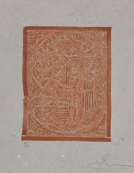 Jasper Johns, '0 through 9 (G. 779, ULAE 188)', 1978