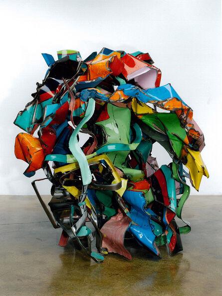 John Chamberlain, 'Suede Dog Peas', 2000