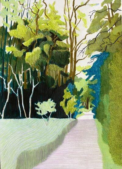 Per Adolfsen, 'The Road into the Fox Forest', 2021