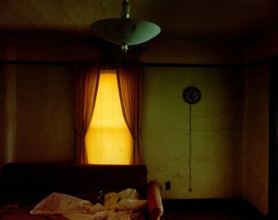 Steve Fitch, 'Living Room In A House In Carlyle, Eastern Montana, June 8', 2000
