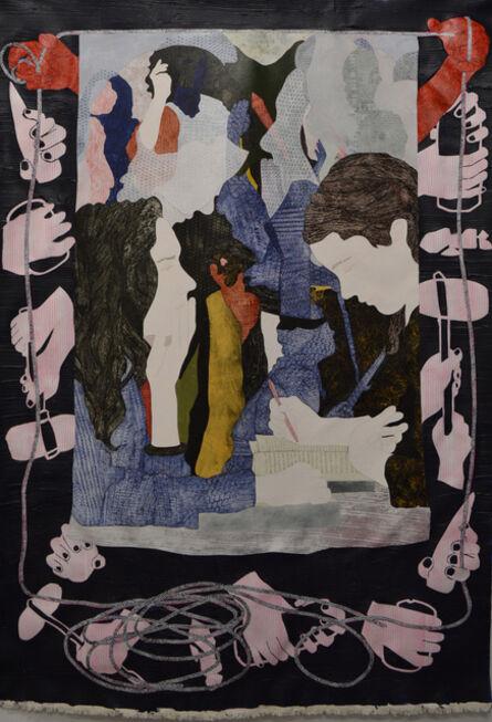 Helen Johnson, 'Women discussing history', 2015