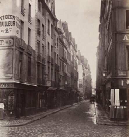Charles Marville, 'Rue de la Huchette, Paris, France', ca. 1867