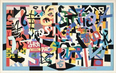 Stuart Davis, 'The Mellow Pad', 1945-1951