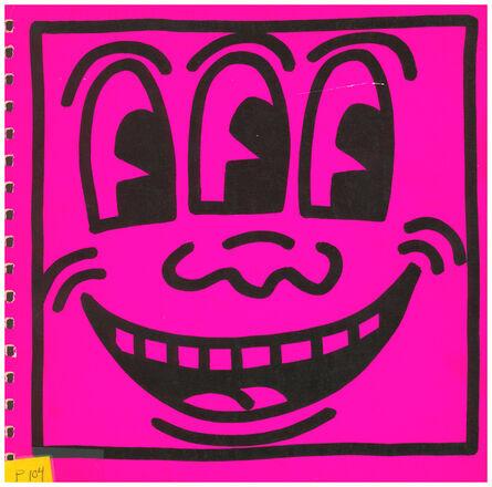 Keith Haring, 'Keith Haring cover art (Keith Haring Three Eyed face)', 1982