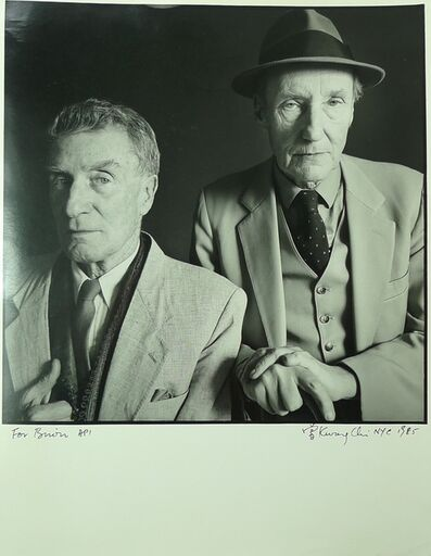Tseng Kwong Chi, 'Brion Gysin and William S. Burroughs, NYC, 1985', 1985