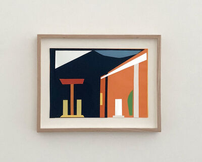 JES, 'GAZ STATION (Hopper)', 2020