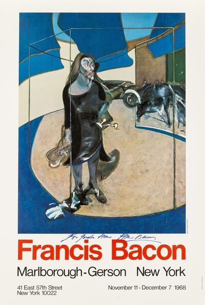 Francis Bacon, 'Portrait of Isabel Rawsthorne standing in a street, Oslo', 1968