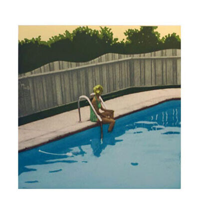 Isca Greenfield-Sanders, 'Green Suit Bather', 2006