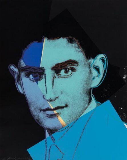 Andy Warhol, 'Franz kafka, from Ten Portraits of Jews of the Twentieth Century', 1980