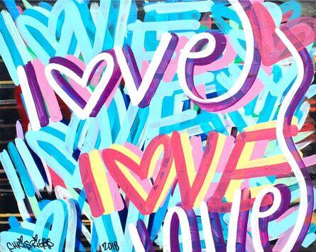 CHRIS RIGGS, 'Love Canvas 10', 2018
