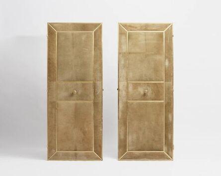 Maison Jansen, 'Rare and Unique Pair of Library Doors'