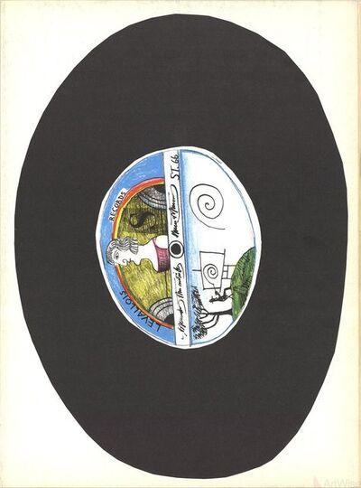 Saul Steinberg, 'DLM No. 157 Cover', 1966