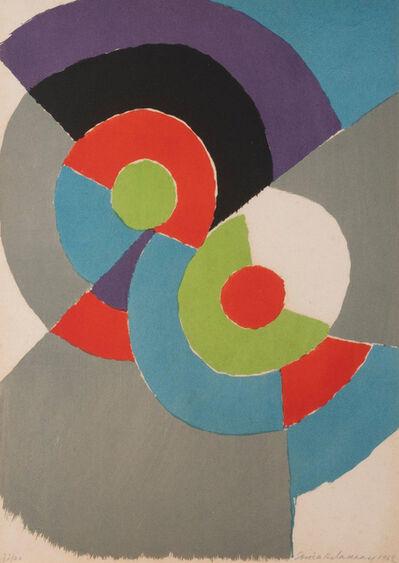 Sonia Delaunay, 'Rythmes colorés', 1962