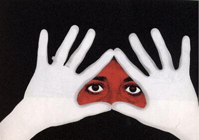 Esther Ferrer, 'Manos feministas (Serie: el libro de las manos)', 1977