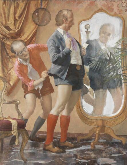 John Currin, 'Hot Pants', 2010