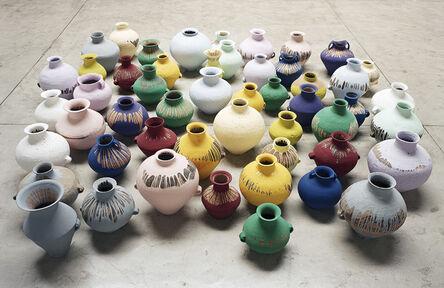 Ai Weiwei, 'Coloured Vases', 2006
