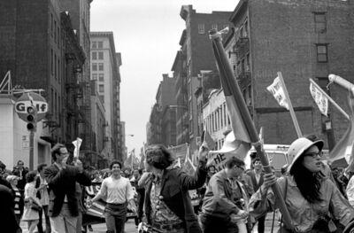 Bev Grant, 'Anti-Imperialism March', 1968