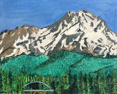 Rudy Shepherd, 'Mount Shasta, holy mountain series', 2018