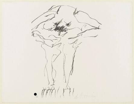 Willem de Kooning, 'Clam Digger from Portfolio 9', 1966; published 1967