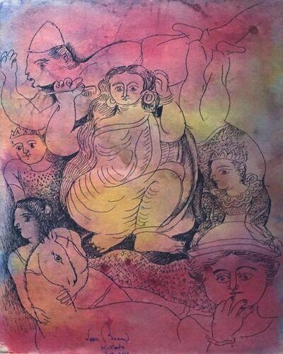 "Sakti Burman, 'Untitled, Figurative, Watercolour on Paper by Modern Artist ""In Stock""', 2013"