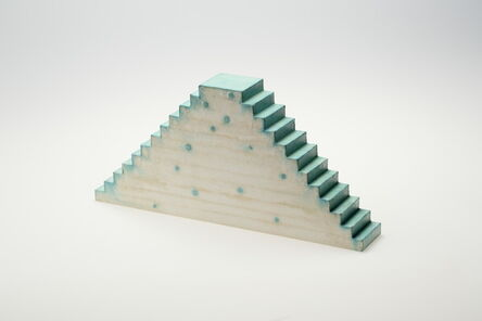 Tatsuo Kawaguchi, 'Relation - Optic Stairway Time, Verdigris and Upwards, Downwards', 2014
